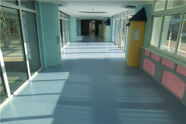 商用PVC运动地板的种类与特点
