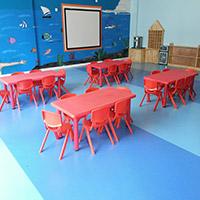 室内专用地板 PVC地胶 幼儿园专用pvc地板 塑胶幼儿园场地