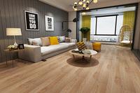 石塑地板-客厅木纹
