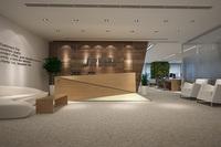石纹石塑地板-会所中心